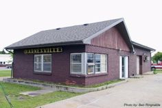 Barnesville, Minnesota depot built by Great Northern in 1906. As of 2005, it was being used as a rental dwelling.