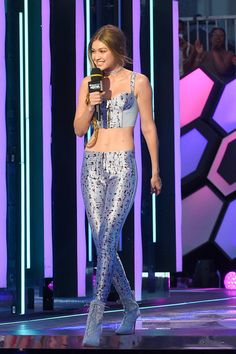 Gigi Hadid Photos - Gigi Hadid hosts the 2016 iHeartRADIO MuchMusic Video Awards at MuchMusic HQ on June 19, 2016 in Toronto, Canada. -…