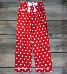 juniors country girl polka dot flannel pants countrygirl winter christmas countryboy - Juniors Christmas Pajamas
