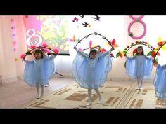 Весенний утренник в Детском Саду. 8 марта. Праздник Весны 2016 - YouTube Ballet Class, Dojo, Costumes, Activities, School, Videos, Crafts, Religious Education, Gross Motor
