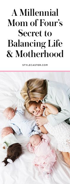 Parenting tips from a young millennial mom with 4 kids | tales of motherhood & mommy hacks | @stylecaster