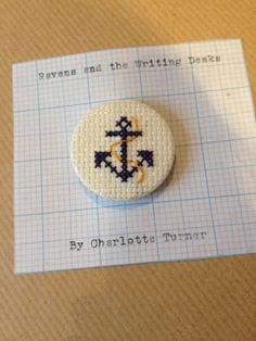 Nautical Anchor Cross-Stitch