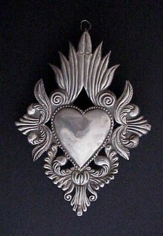 Oaxacan sacred heart milagro