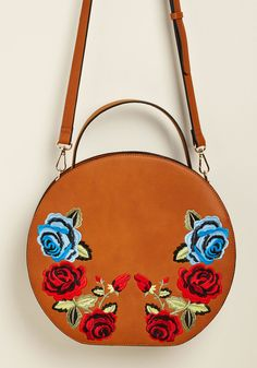 Brilliance in Bloom Embroidered Bag #sponsored