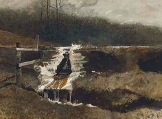 Andrew Wyeth - Auction lot details - Artist auction records