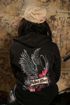 Rebel Girl Hoodie- Got n Love it!!