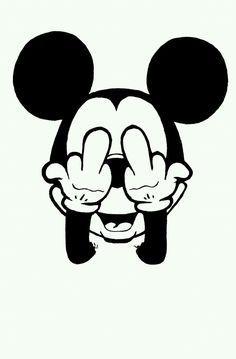 Mickey gives both fingers! Mickey Mouse Art, Mickey Mouse Wallpaper, Cute Disney Wallpaper, Wallpaper Iphone Cute, Cute Wallpapers, Wallpaper Backgrounds, Minnie Mouse, Iphone Cartoon, Cartoon Art