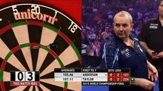 PDC World Championship Of Darts 2015 - The Final - Anderson VS Taylor Hi...