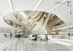 Arch2O Taichung City Cultural Center Competition Entry BAT -9