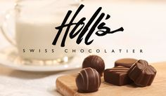 Have loved them since before they had their store! :) The BEST chocolates you will ever eat and they deliver! Thank goodness- don't know what I'd do without Holl's chocolates at Christmas and Valentines! Swiss Chocolate, Love Chocolate, Dessert Sauces, Desserts, Something Sweet, No One Loves Me, West Virginia, Truffles, Chocolates
