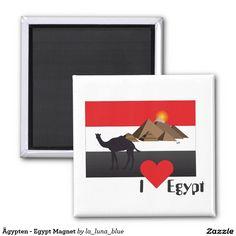 Ägypten - Egypt Magnet