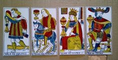 Tarot Courts, Cups in the Hes – Derua Tarot