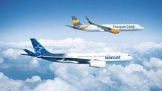 Thomas Cook Group Airlines y Air Transat se intercambiarán sus aviones