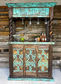 1000 ideas about rustic bars on pinterest rustic bar stools bar stools and bar - Muur hutch ...