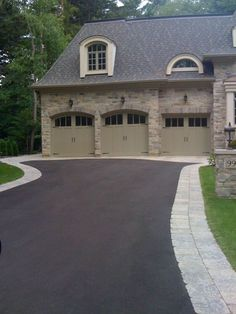 Beautiful, #Smooth_Driveway - The concrete in your driveway can chip away and develop potholes over time the same as any city street. When this happens, hire professionals to put in new #concrete, so every detail of your property looks fantastic.
