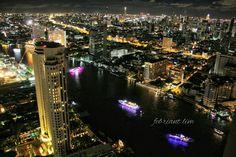 Chao Praya Night Scene