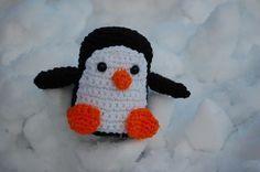 @Kristen Skillman - you should make this guy!! joe penguin free amigurumi crochet pattern