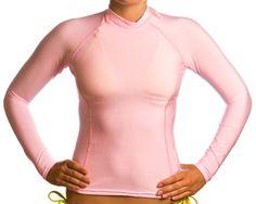Beach Depot UPF 50+ Women`s Long Sleeve Rash Guard Shirt $29.95