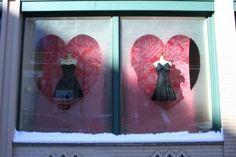 Valentines Window display idea