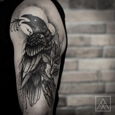 tattoo raven newschool - Google zoeken