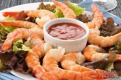 Receita de Camarão com manteiga e alho em receitas de crustaceos, veja essa e outras receitas aqui!