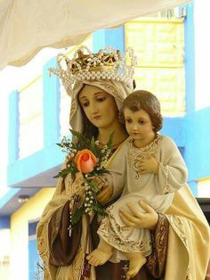 Blessed Mother Mary & her Son Jesus