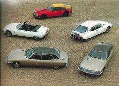 Citroën SM Maserati Automobiles Classiques Printemps 1985
