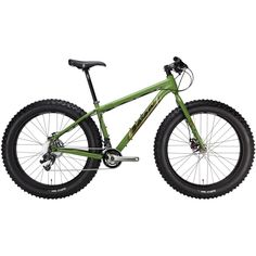 Salsa Mukluk 3 Fatbike 2012 $1,749 - A capable, fun and very fat tire bike which is good for quite a lot of things, like riding straight through the forest. The big Darryl Wheels and Surly Tires will clear the path of all obstacles, including small animals (just kidding). Some believe the bike will float across the river, but we do not advise trying that (no rudder is included). But seriously, it is made for you to ride on snow, beaches, go out bush wacking and for riding singletrack. Big…