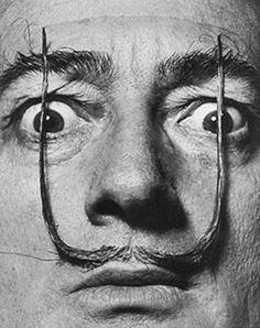 Salvador Dali by Phillippe Halsman