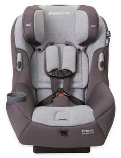 Maxi-Cosi®️️ PriaTM 85 Convertible Car Seat in Loyal Grey Baby will enjoy superior comfort and parents will appreciate the ease of use of the Pria 85 Convertible Car Seat from Maxi-Cosi. Car seat features premium fabrics plus plush padding, and is loaded with advanced safety features for more secure travels.