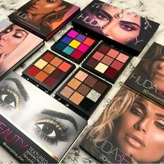 Makeup & Beauty lovers we've got something for you! Our product calendar has all releases across 300 cosmetics brands! Need new inspiration for your looks or planning your next purchase? Huda Beauty Eyeshadow, Huda Beauty Makeup, Beauty Make-up, Skin Makeup, Makeup Brushes, Make Up Geek, Make Up Palette, Makeup Brands, Best Makeup Products