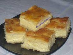 Prajitura cu branza de vaci - imagine 1 mare Queso, Cornbread, Tiramisu, Sweets, Ethnic Recipes, Desserts, Puddings, Boston, Drink
