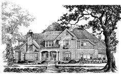 Eplans French Country House Plan - Details Lend Curb Appeal - 4137 Square Feet and 4 Bedrooms(s) from Eplans - House Plan Code HWEPL05262