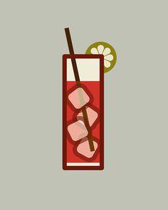 Icon Prints: Drinks Series