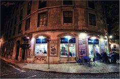 https://flic.kr/p/C9xLVQ | Cafetería en la vieja Lisboa