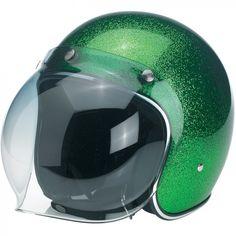 Biltwell Bubble Shield - Green Gradient