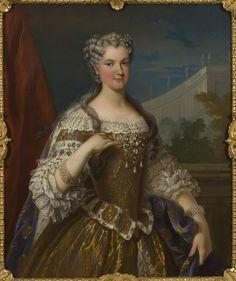 File:Maria Charlotta Leszczynska, 1703-1768, prinsessa av Polen, drottning av Frankrike - Nationalmuseum - 15860.tif