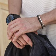 Celtic Bracelet, Bracelet Set, Bracelet Making, Silver Man, Silver Cuff, Mens Gold Bracelets, Beaded Bracelets, Men Necklace, Chains For Men