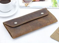 Our leather travel wallet has two side compartments for your travel documents and passport on one side and a generous zipped compartment on the other for coins, cards and notes. Unique Valentines Day Gifts, Unique Wedding Gifts, Gifts For Women, Gifts For Her, Apple Uk, Leather Luggage Tags, Leather Bag, Travel Purse, Vintage Bags