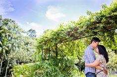 Aline e Daniel | Ensaio de Casal | Jardim Botânico São Paulo Rafa Ramos Fotografia