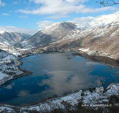 Il lago di Scanno, Italy, province of L'Aquila , Abruzzo