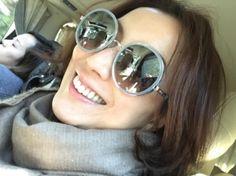 Popular Female Singer Sammi Cheng Wears @jimmychooworld Sunnies