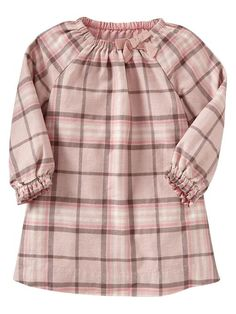 Gap | Plaid bow dress...too cute
