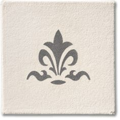 Paint a custom design on rugs and carpet without ever making a mistake. Try our Fleur de Lis 3 Stencil for $7.99.