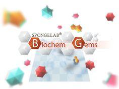 Biochem Gems Science Games, Problem Solving Skills, Educational Games, Gems, Learning Games, Rhinestones, Gemstones, Emerald