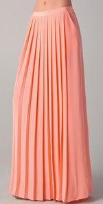 <3 <3 <3 Tibi Maxi Pleated Skirt