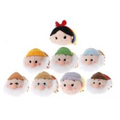 Tsum tsum Disney Snow White collection! Japan exclusive, available on eBay.