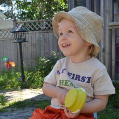 Toddler Hemp Sun Hat, Fair Trade Size 0-4 yrs