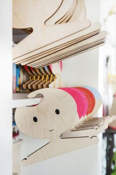 Meet the Maker… Red Hand Gang Kids Storage, Make Color, Plywood, Clothes Hanger, Coloring Books, Childhood, Space, Children, Shop