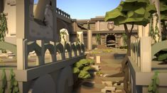 Ambinite Temple LowPoly by HitchHock on DeviantArt